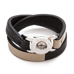 Marc Jacobs Katie Double Wrap Leather Bracelet
